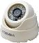 """Купольная видеокамера высокого разрешения с ИК-подсветкой стандарта AHD модель: VSD-1361FR-AHD  купить в магазине """"Проводник"""""""